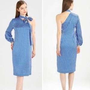 Banana Republic One Shoulder Shift Dress Size 00P